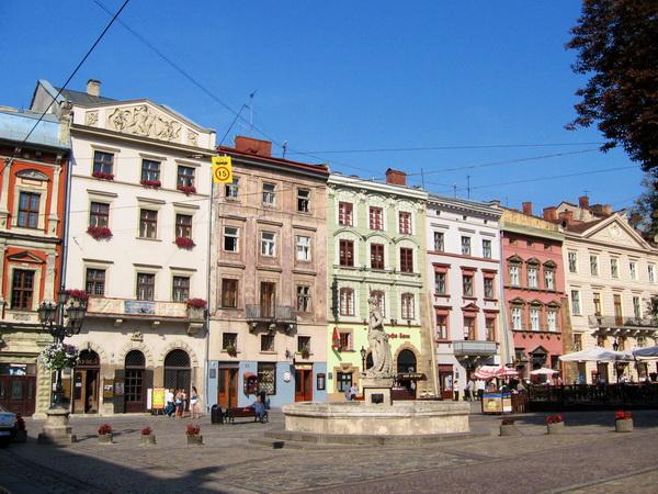 Львов. Площадь Рынок.