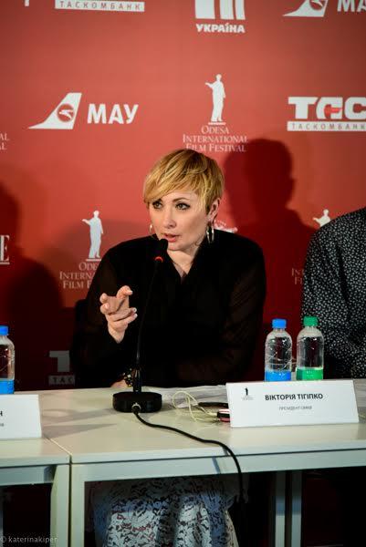 Президент Одесского Международного Кинофестиваля Виктория Тигипко